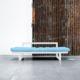 El Diván Cama Edge visón ofrece tres posiciones: diván de dos plazas, chaise-longue y cama individual de 80 x 200 cm. - Ítem3