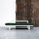 El Diván Cama Edge visón ofrece tres posiciones: diván de dos plazas, chaise-longue y cama individual de 80 x 200 cm. - Ítem8