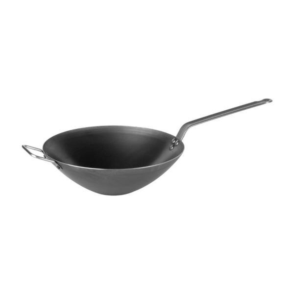 Gracias a su gran espesor, este wok se adapta a las fuentes de calor más potentes, garantizando una excelente difusión del calor.