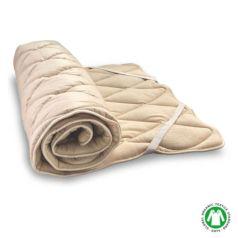 El hecho que la funda tenga dos acabados permite usar el topper en función de la época del año o las preferencias de las personas que lo usen. El lado jersey es cálido, suave y esponjoso por lo que es ideal para los días más fríos del invierno.