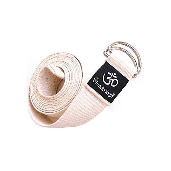 Este cinturón de Yoga de algodón orgánico