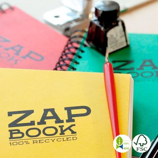 Libreta Zap Book papel reciclado espiral A4