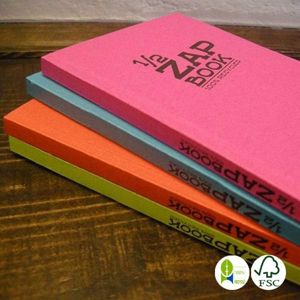 Libreta Zap Book papel reciclado A5
