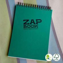 Bloc Zap Book papel reciclado espiral A4 - Ítem