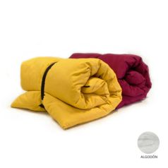 futon portatil color con funda extraible