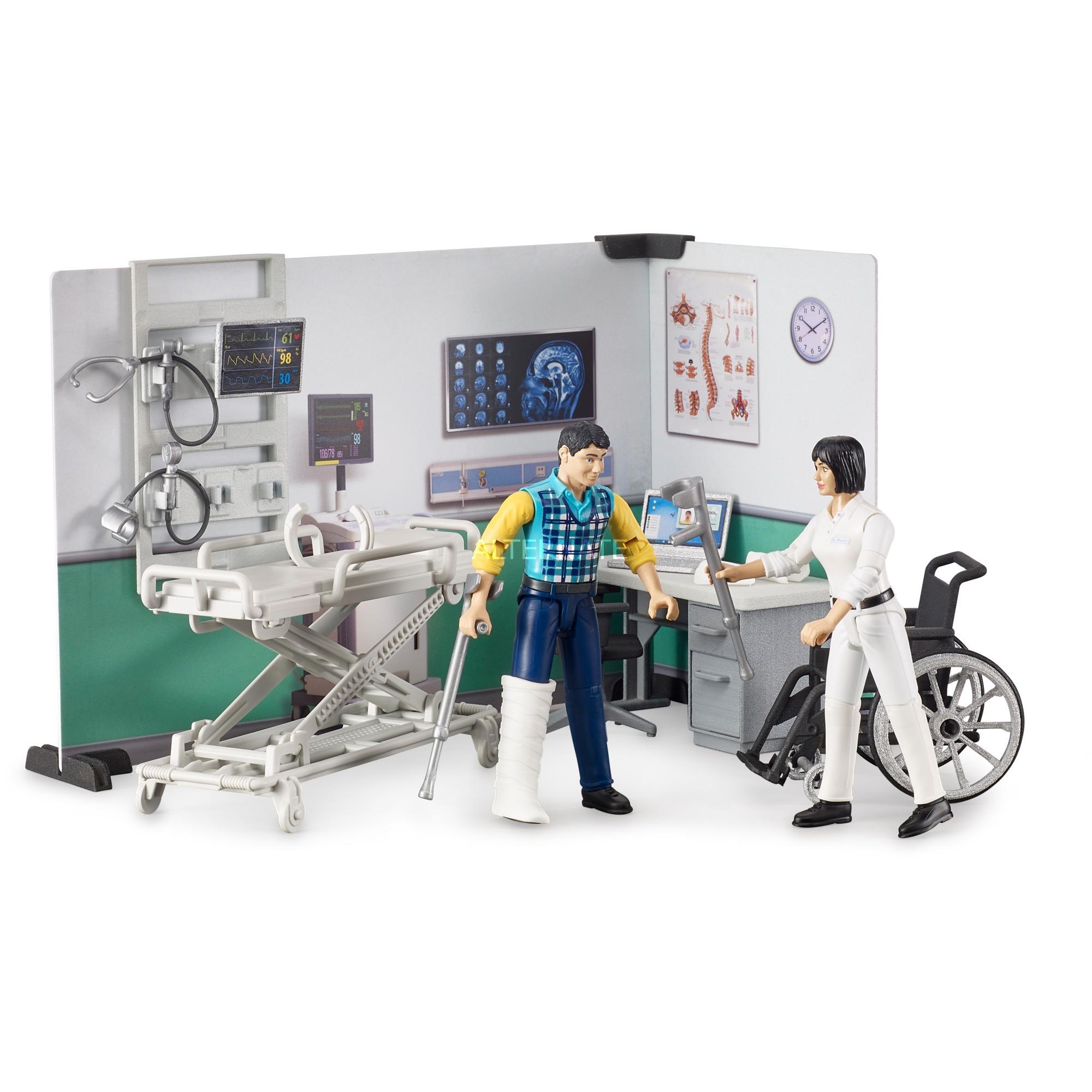 BRUDER 1:16 muñeco asistencia medica con accesorios - Ítem2