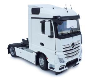 MARGE MODELS 1:32 Camión MERCEDES-BENZ ACTROS STREAMSPACE 4X2 BLANCO