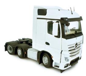 MARGE MODELS 1:32 Camión MERCEDES-BENZ ACTROS STREAMSPACE 6X2 BLANCO