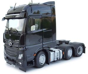 MARGE MODELS 1:32 Camión MERCEDES-BENZ ACTROS BIGSPACE 6X2 NEGRO