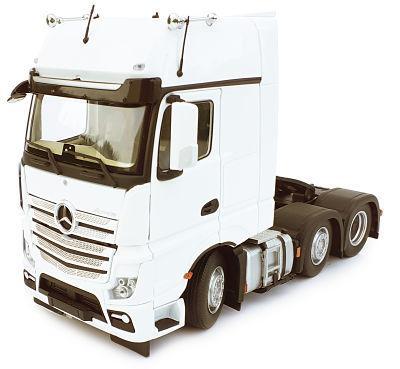 MARGE MODELS 1:32 Camión MERCEDES-BENZ ACTROS GIGASPACE 6X2 BLANCO - Ítem1