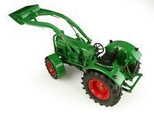 UNIVERSAL HOBBIES 1:32 Tractor DEUTZ-FAHR D6005 4WD CON PALA FRONTAL - Ítem3