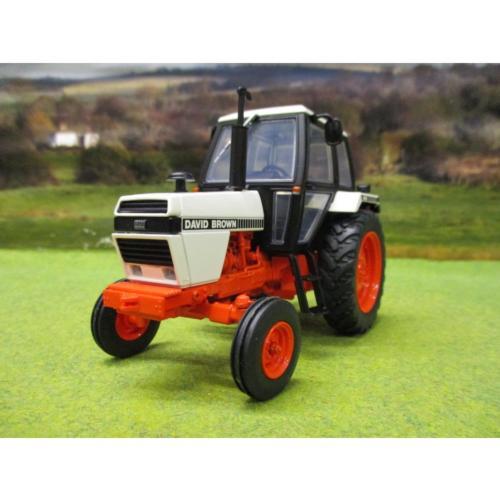 UNIVERAL HOBBIES 1:32 Tractor DAVID BROWN 1490 2WD