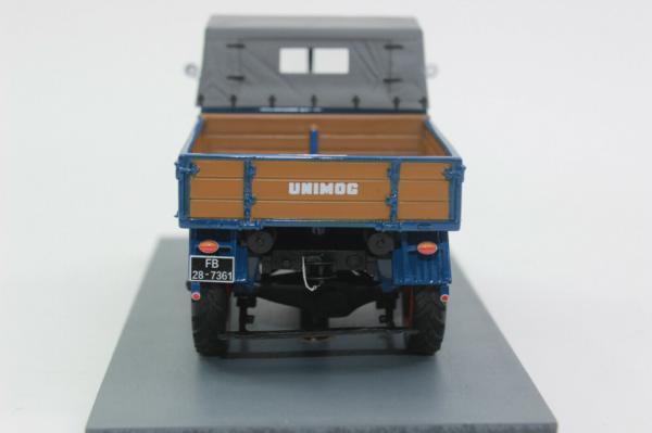 SCHUCO 1:32 MB Unimog 401 blue - Ítem2