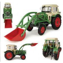 UNIVERSAL HOBBIES 1:32 Tractor FENDT FARMER 2 CON CABINA Y PALA FRONTAL - Ítem3