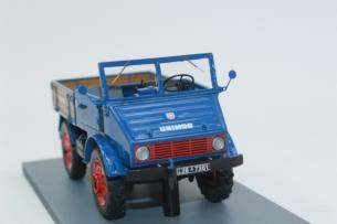 SCHUCO 1:32 MB Unimog 401 blue