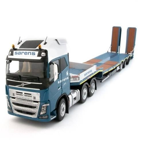 MARGE MODELS 1:32 VOLVO FH16 6x2 + Nooteboom Edition SARENS