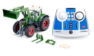 SIKU 1:32 RC Radio Control Tractor FENDT 933 VARIO CON PALA FRONTAL Y CONTROL REMOTO