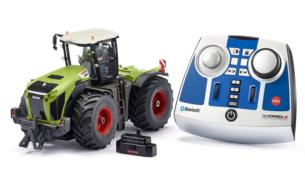 SIKU 1:32 RC Radio Control Tractor CLAAS XERION 5000 TRAC VC CON CONTROL REMOTO BLUETOOTH