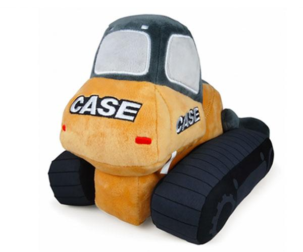 Peluche bulldozer CASE UHKIDS UHK1116 - Ítem1