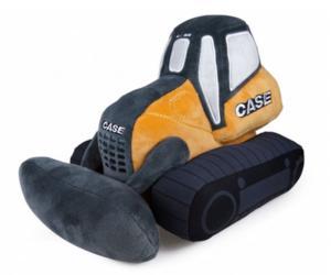 Peluche bulldozer CASE UHKIDS UHK1116