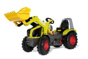 ROLLY TOYS Tractor de pedales ROLLYX-TRAC PREMIUM CLAAS AXION 960 CON PALA