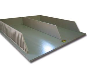Doble silo horizontal para miniaturas a escala 1:32