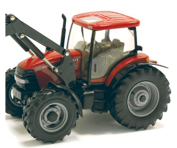 tractor case ih maxxum 110 con pala - Ítem1