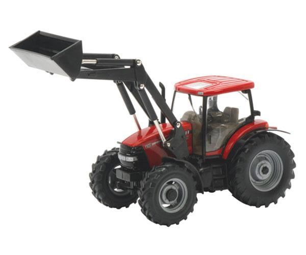 tractor case ih maxxum 110 con pala - Ítem2