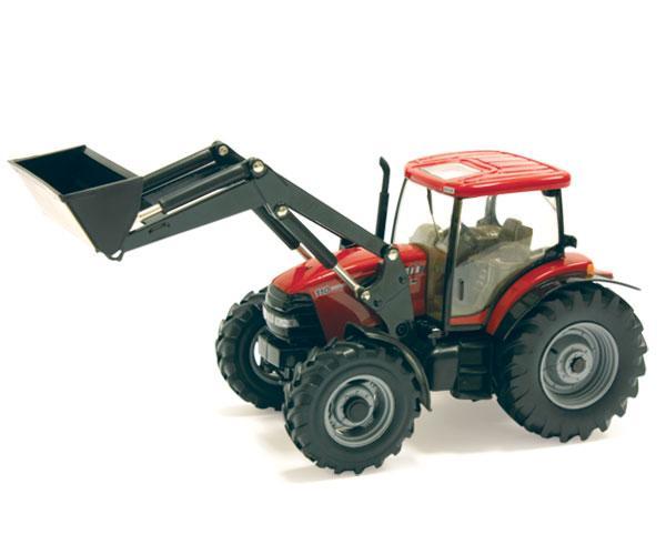 tractor case ih maxxum 110 con pala