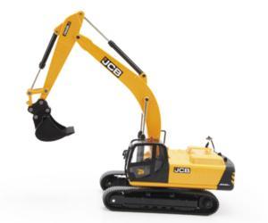 Miniatura excavadora JCB JS