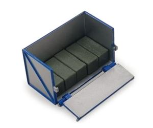 Caja de carga para tractores con 6 pacas Britains 43109