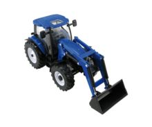BRITAINS 1:32 Miniatura tractor NEW HOLLAND T6.180 con pala - Ítem2