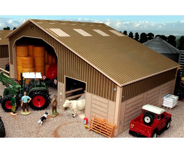 Almacén para miniaturas a escala 1:32 Brushwood Toys BB9100