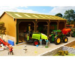 Almacén para miniaturas a escala 1:32 Brushwood Toys BBB160