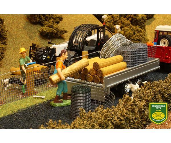 Pack de construcción de vallas Brushwood Toys BT3001