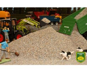Grava gris claro Brushwood Toys BT3002
