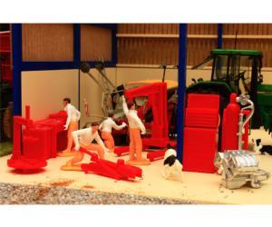 Muñecos y accesorios de taller Brushwood Toys BT3043