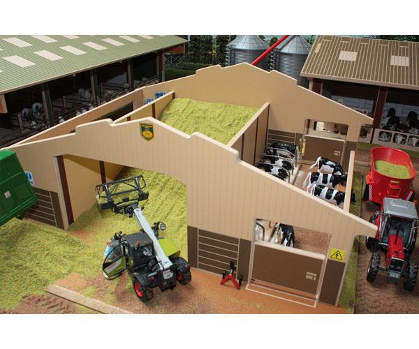 Almacén y granja de vacas para miniaturas a escala 1:32 Brushwood Toys BT4000 - Ítem1