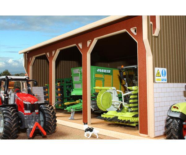 Almacén para miniaturas a escala 1:32 Brushwood Toys BT5000 - Ítem1
