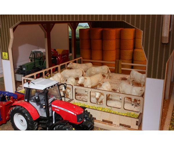 Almacén para pacas a escala 1:32 Brushwood Toys BT6000 - Ítem2