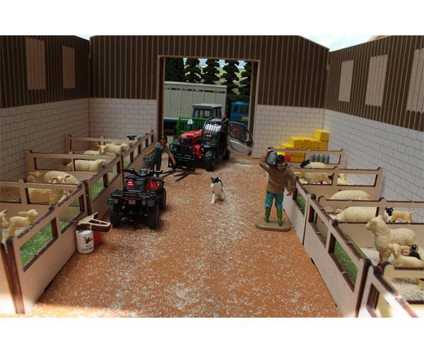 Establo para ovejas a escala 1:32 Brushwood Toys BT7000 - Ítem2