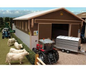 Establo para ovejas a escala 1:32 Brushwood Toys BT7000
