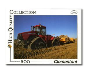 Puzzle 500 piezas tractor CASE IH STX 480