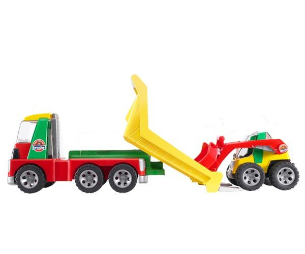 camion con minicargadora - Ítem4