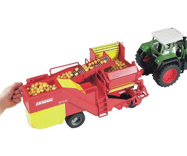 Cosechadora de patatas de juguete GRIMME SE 75-30 - Ítem3