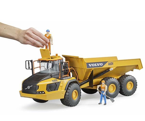 BRUDER 1:16 Dumper de juguete VOLVO A60H 02455 - Ítem5