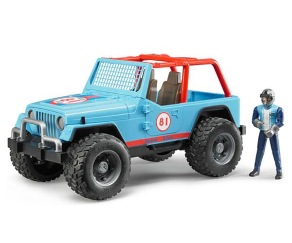 Todoterreno de juguete JEEP Cross con conductor Bruder 02541 - Ítem1