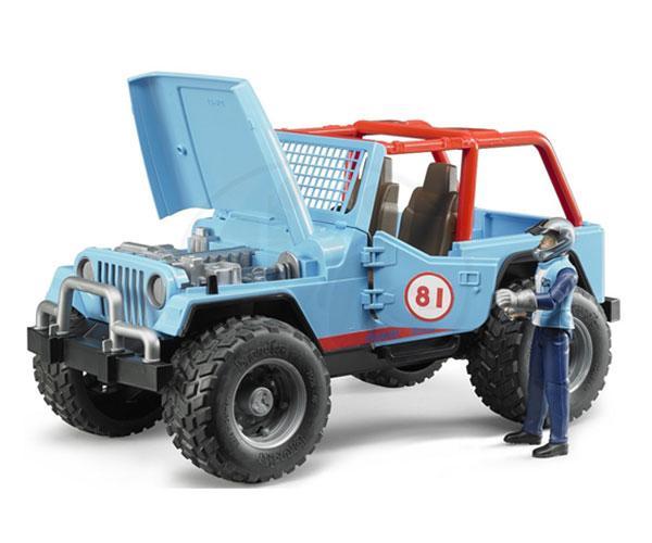 Todoterreno de juguete JEEP Cross con conductor Bruder 02541 - Ítem2