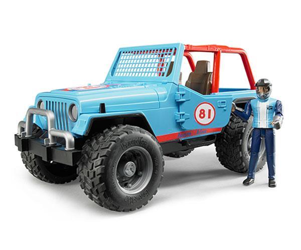 Todoterreno de juguete JEEP Cross con conductor Bruder 02541