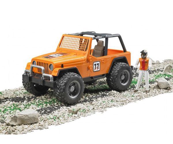 Todoterreno de juguete JEEP Cross con conductor Bruder 02542 - Ítem4